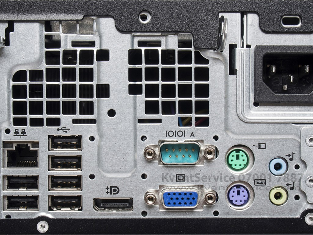 Основните характеристики на HP Elite 8000
