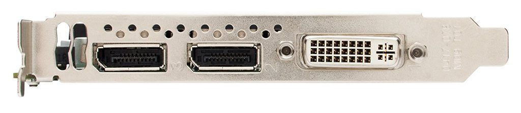 Nvidia Quadro K2000 Ports